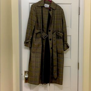 Frame trench coat